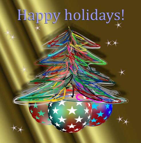 happy-holidays-hand-made-christmas-tree-golden-background-62664831
